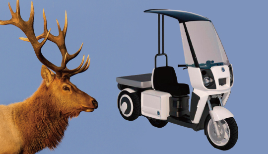 Electric Motor Scooter >> CARGO3 - ADIVA - Perfect Urban Commuter
